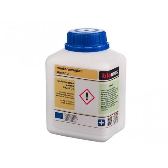 Wodorowęglan amonu. Amoniak...