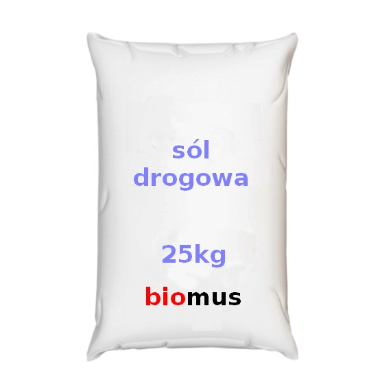 Streusalz. Sól drogowa 25kg