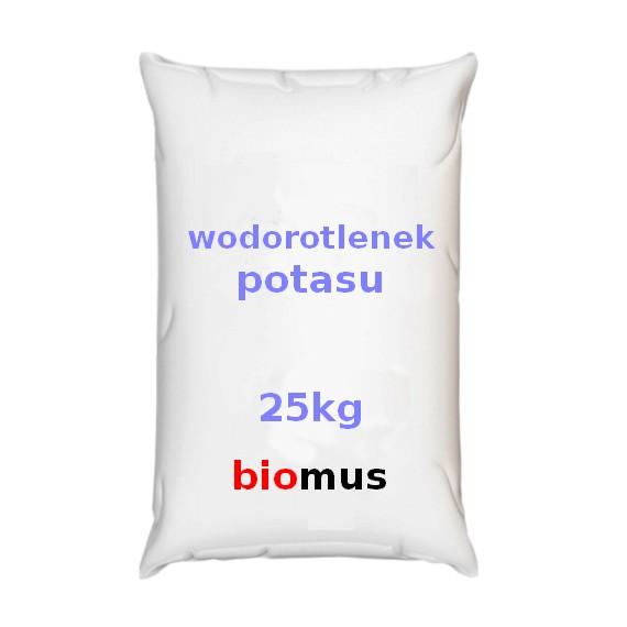 Wodorotlenek potasu 25kg