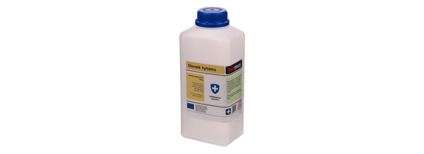 Titanium oxide. Titanium white