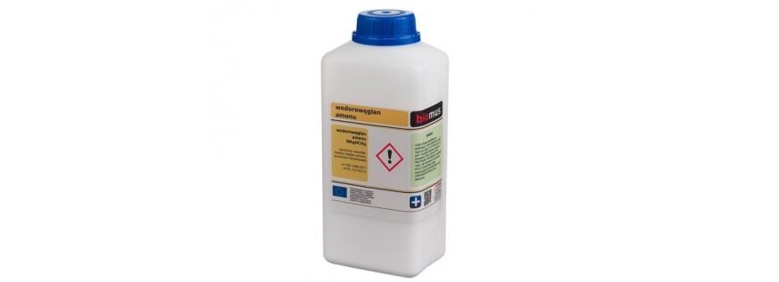 Wodorowęglan amonu. Amoniak