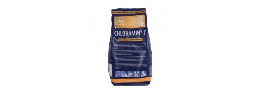 Chloramin T. Bochemie. Desinfektion